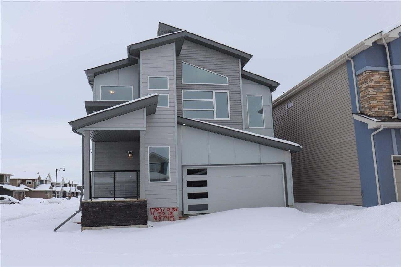 House for sale at 17926 9a Av SW Edmonton Alberta - MLS: E4186717