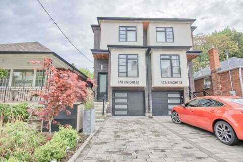 Townhouse for sale at 17 Knight St Toronto Ontario - MLS: E4806565