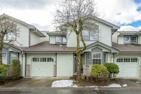 Townhouse for sale at 11580 Burnett St Unit 18 Maple Ridge British Columbia - MLS: R2350151
