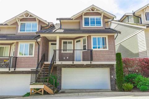 Townhouse for sale at 11720 Cottonwood Dr Unit 18 Maple Ridge British Columbia - MLS: R2369605