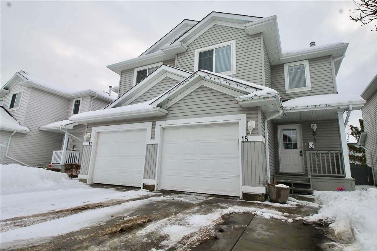 Townhouse for sale at 13403 Cumberland Rd NW Unit 18 Edmonton Alberta - MLS: E4186807
