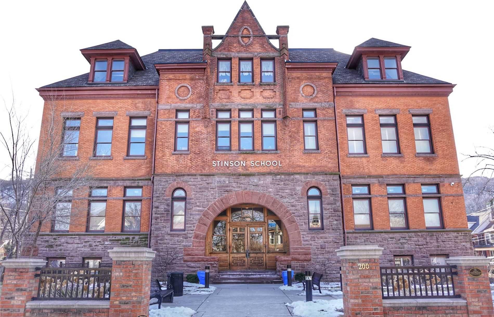 Stinson School Lofts Condos: 200 Stinson Street, Hamilton, ON
