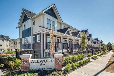 Townhouse for sale at 2796 Allwood St Unit 18 Abbotsford British Columbia - MLS: R2452822