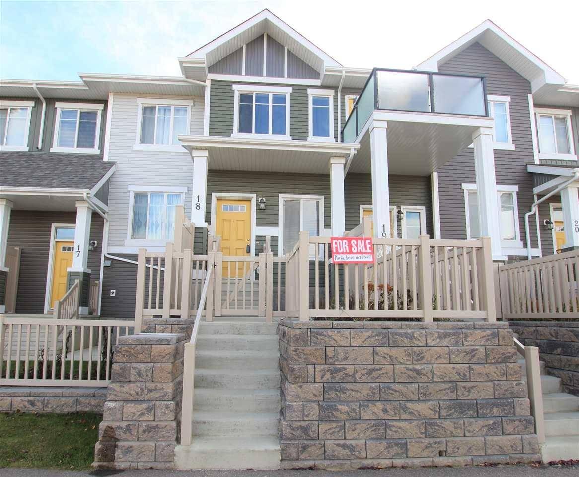 Townhouse for sale at 2905 141 St Sw Unit 18 Edmonton Alberta - MLS: E4177495