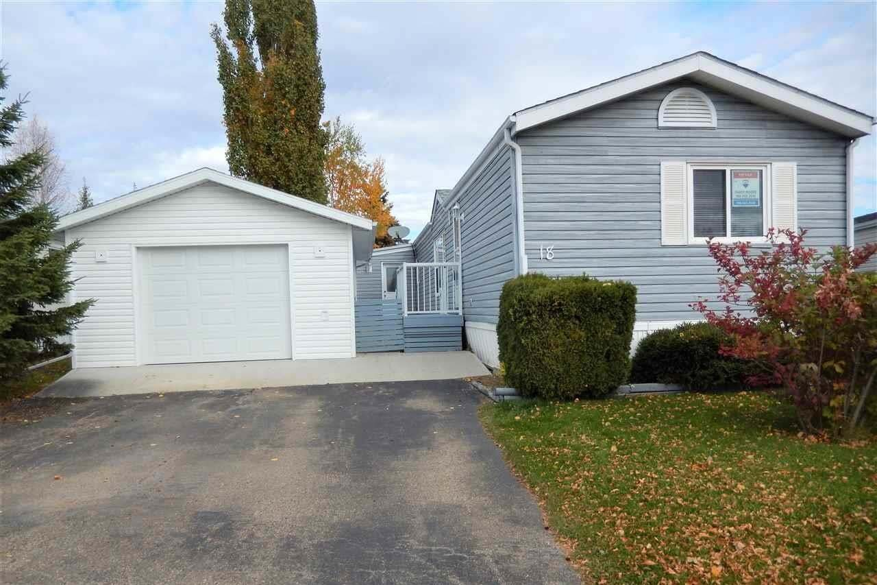 Residential property for sale at 3400 48 St Unit 18 Stony Plain Alberta - MLS: E4217589