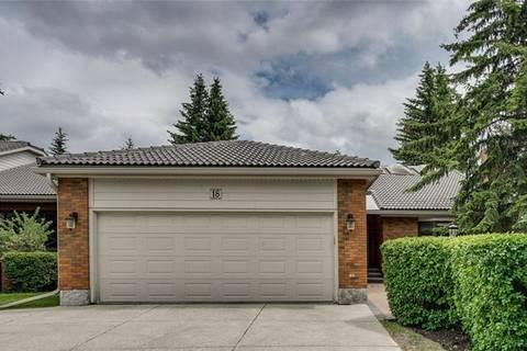 House for sale at 35 Oakmount Ct Southwest Unit 18 Calgary Alberta - MLS: C4255003