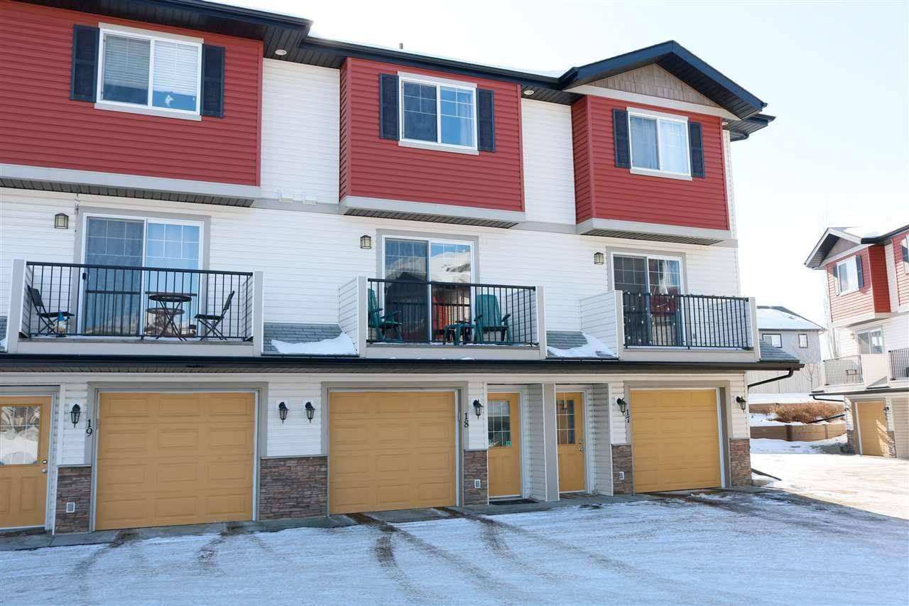 Townhouse for sale at 3751 12 St Nw Unit 18 Edmonton Alberta - MLS: E4188779