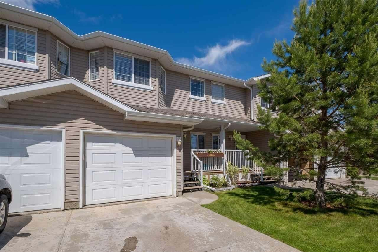 Townhouse for sale at 380 Silver_berry Rd NW Unit 18 Edmonton Alberta - MLS: E4201091