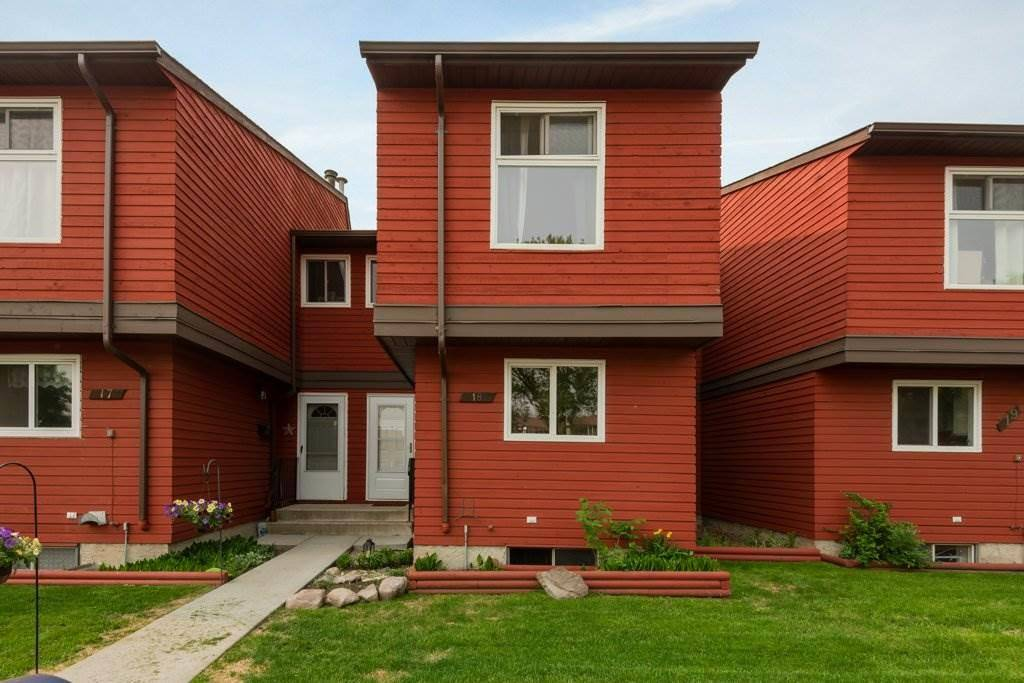 Townhouse for sale at 4707 126 Ave Nw Unit 18 Edmonton Alberta - MLS: E4183792