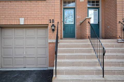 Condo for sale at 5030 Heatherleigh Ave Unit 18 Mississauga Ontario - MLS: W4715421