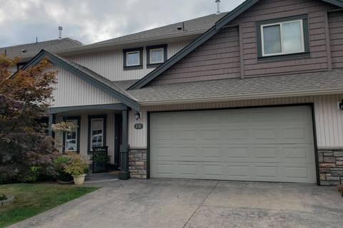 Townhouse for sale at 6450 Blackwood Ln Unit 18 Sardis British Columbia - MLS: R2401203