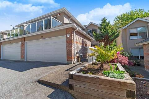 Townhouse for sale at 72 Jamieson Ct Unit 18 New Westminster British Columbia - MLS: R2368023