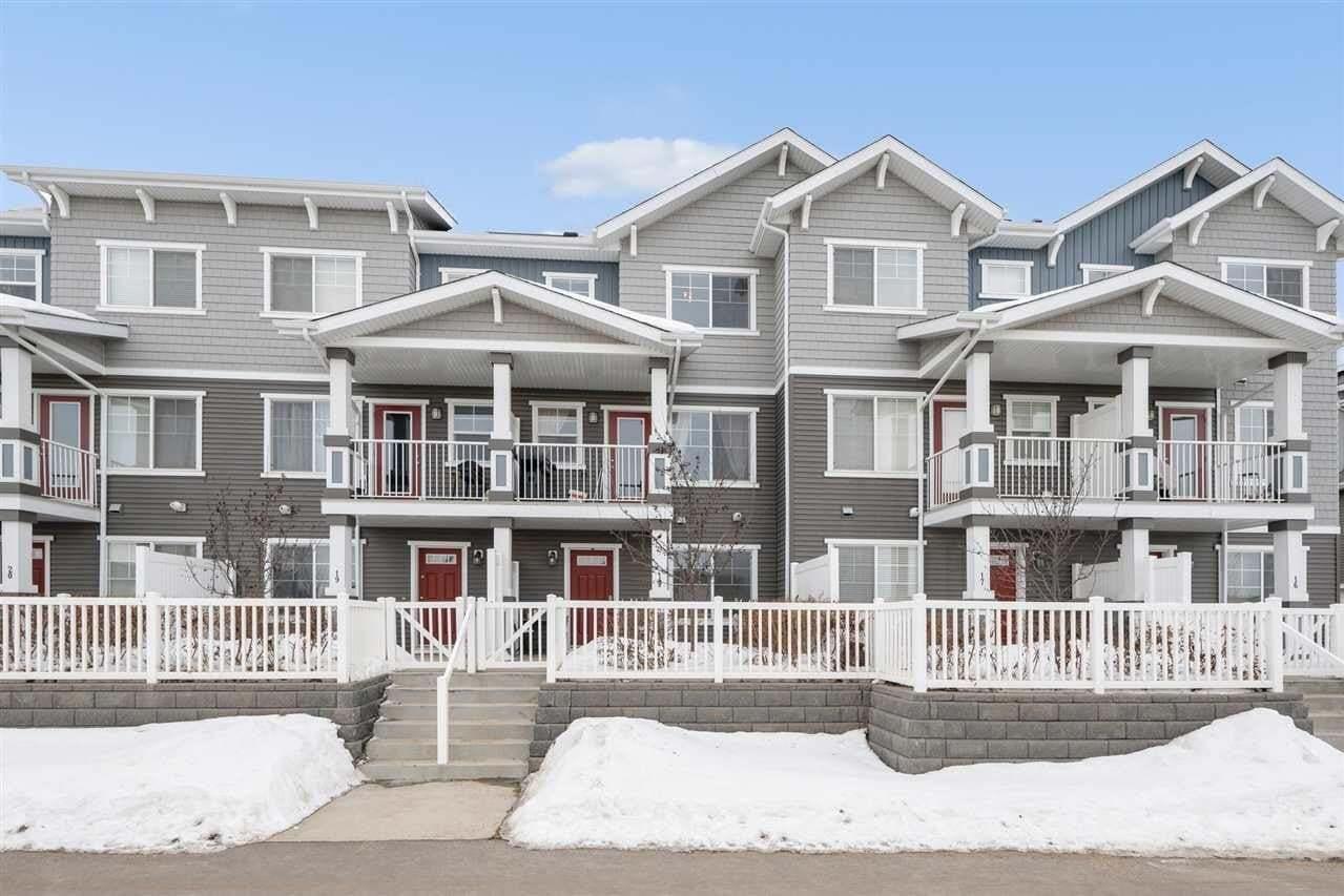 Townhouse for sale at 7385 Edgemont Wy NW Unit 18 Edmonton Alberta - MLS: E4201163
