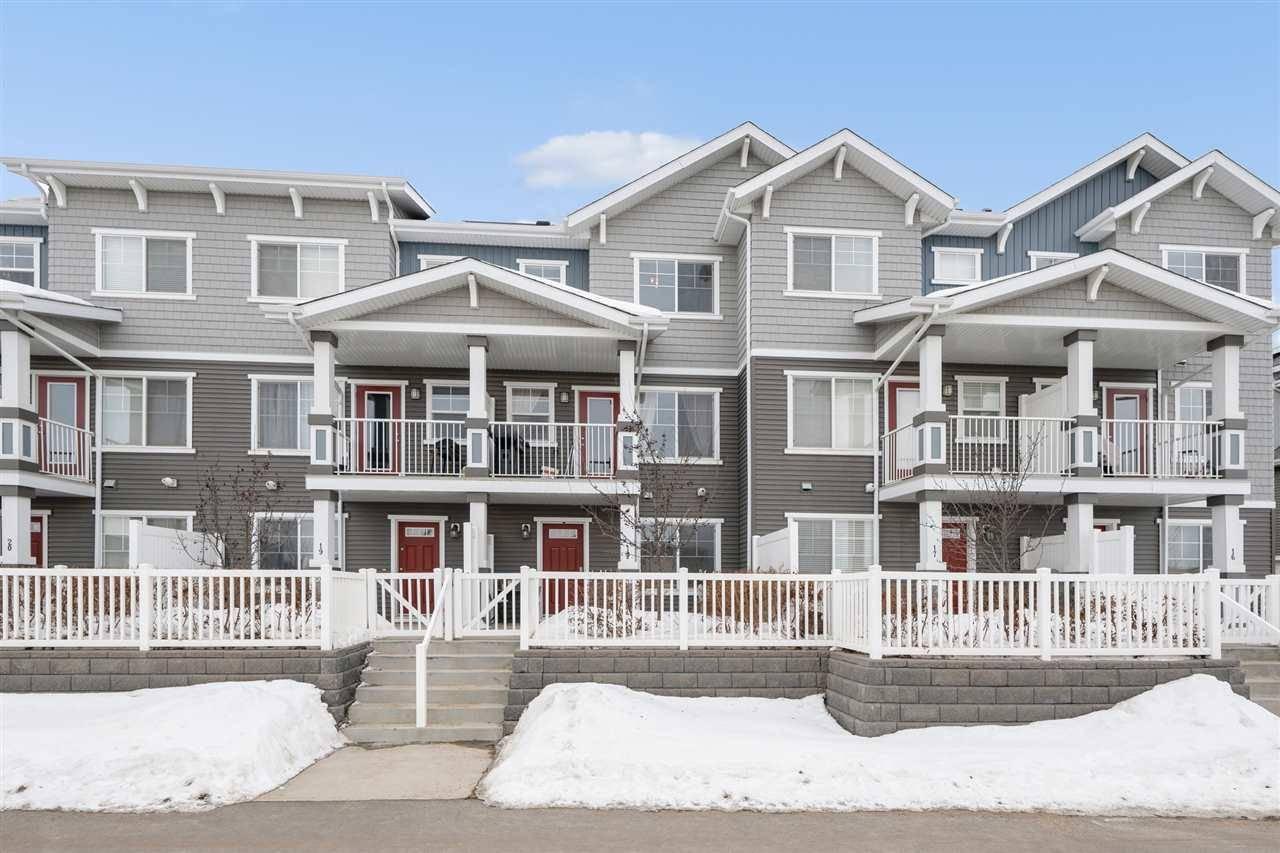 Townhouse for sale at 7385 Edgemont Wy Nw Unit 18 Edmonton Alberta - MLS: E4190145