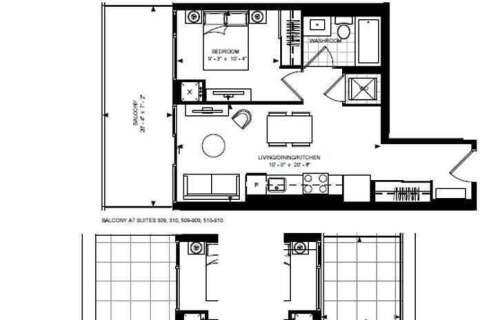 Apartment for rent at 7895 Jane St Unit 518 Vaughan Ontario - MLS: N4766059