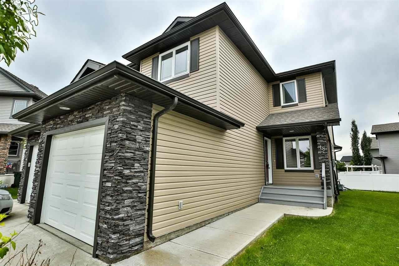 Townhouse for sale at 18 Austin Co Spruce Grove Alberta - MLS: E4204012
