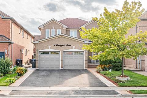 House for sale at 18 Barleyfield Rd Brampton Ontario - MLS: W4576787