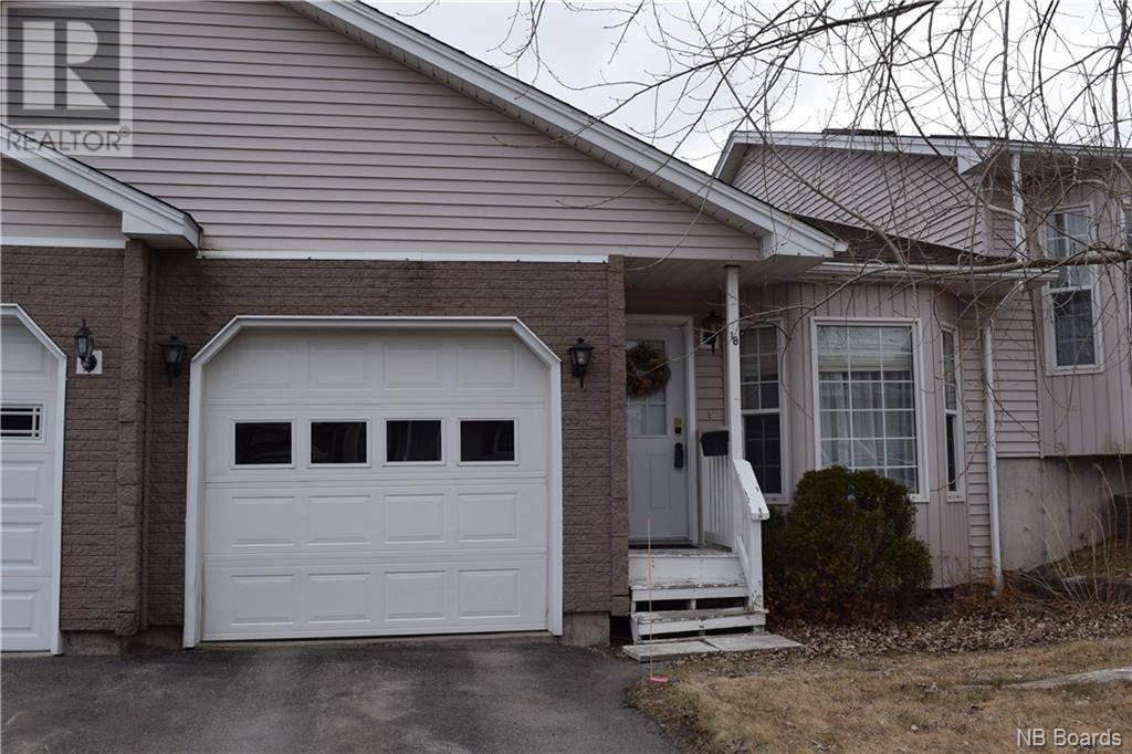 House for sale at 18 Derrick Ct Saint John New Brunswick - MLS: NB036868