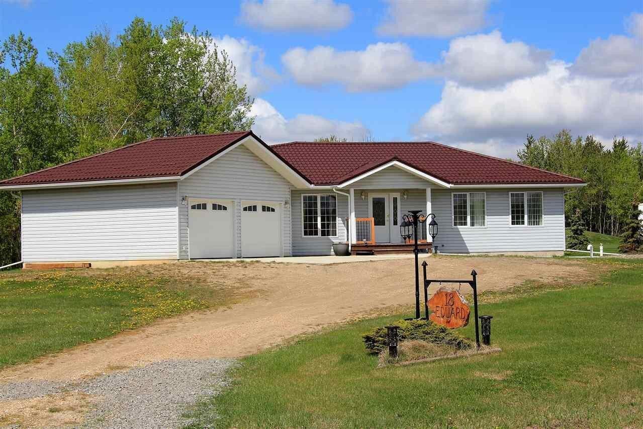 House for sale at 18 Eduard Rd Rural Sturgeon County Alberta - MLS: E4184785
