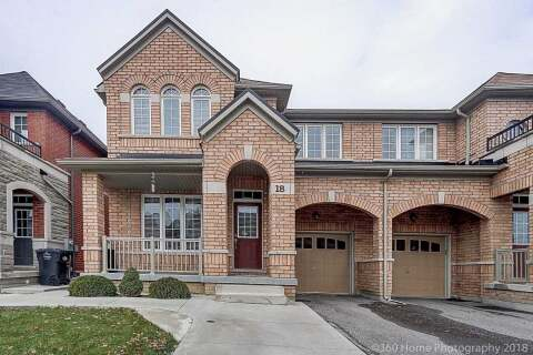 Townhouse for sale at 18 Education Rd Brampton Ontario - MLS: W4918296