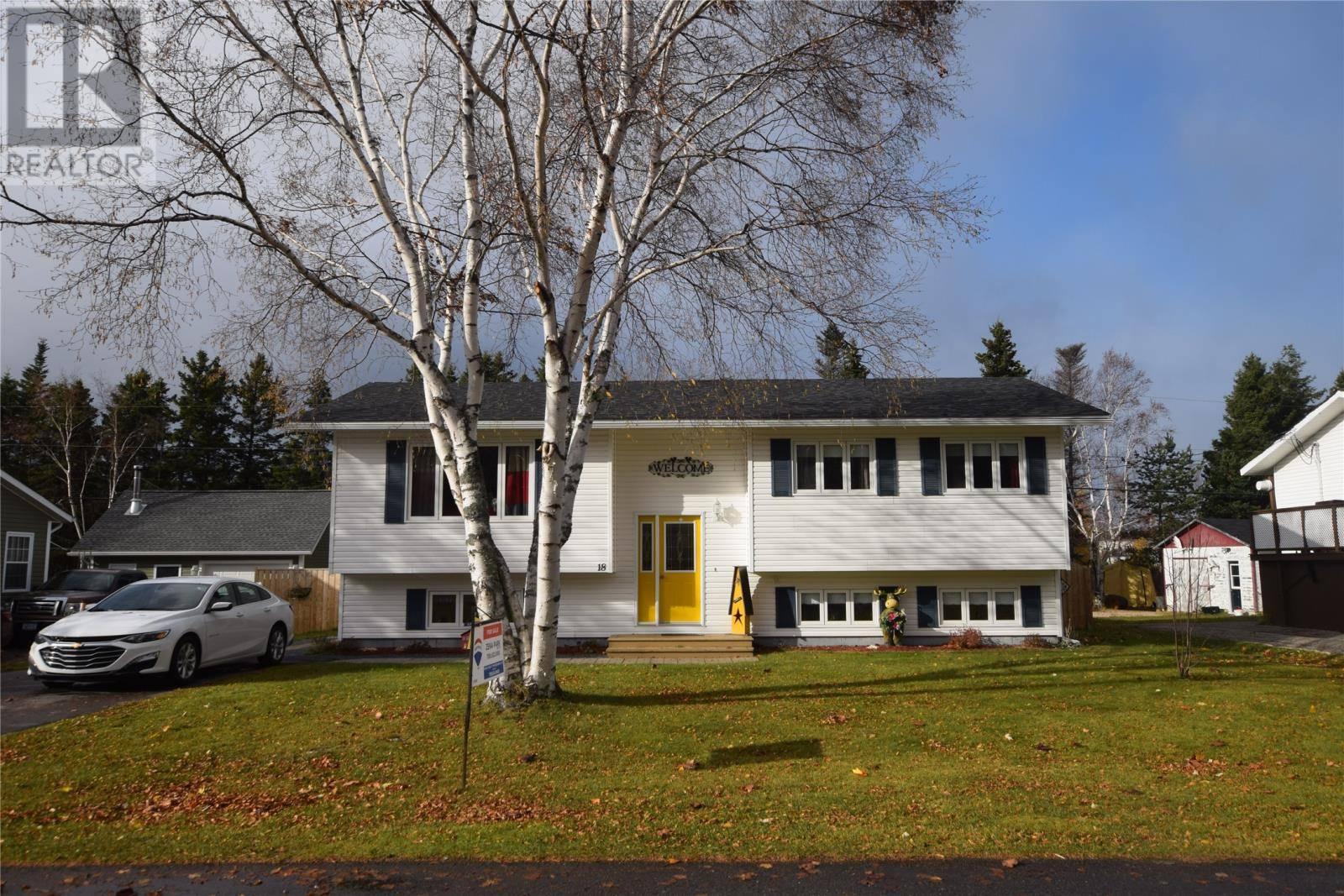 House for sale at 18 Elmwood Cres Pasadena Newfoundland - MLS: 1206818