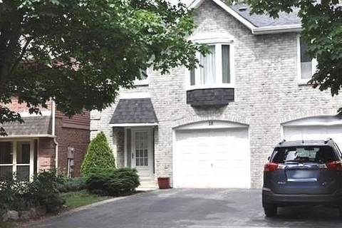 Townhouse for rent at 18 Foxglove Ct Markham Ontario - MLS: N4525697