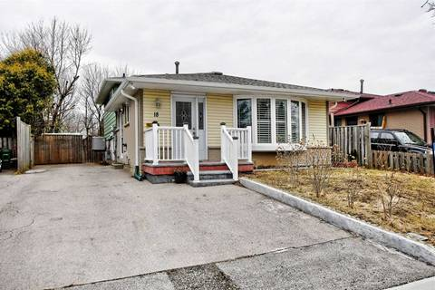 House for sale at 18 Hutcherson Sq Toronto Ontario - MLS: E4410071