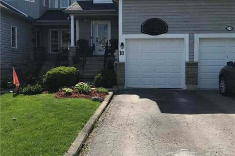 Townhouse for sale at 18 Ivory Ct Clarington Ontario - MLS: E4780470