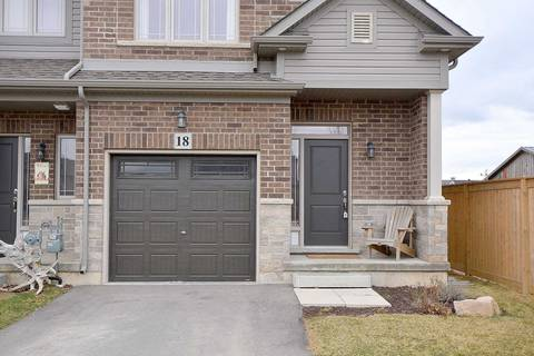 Townhouse for sale at 18 Kingsborough Dr Hamilton Ontario - MLS: X4413041
