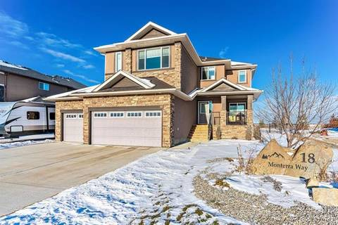 House for sale at 18 Monterra Wy Rural Rocky View County Alberta - MLS: C4278664