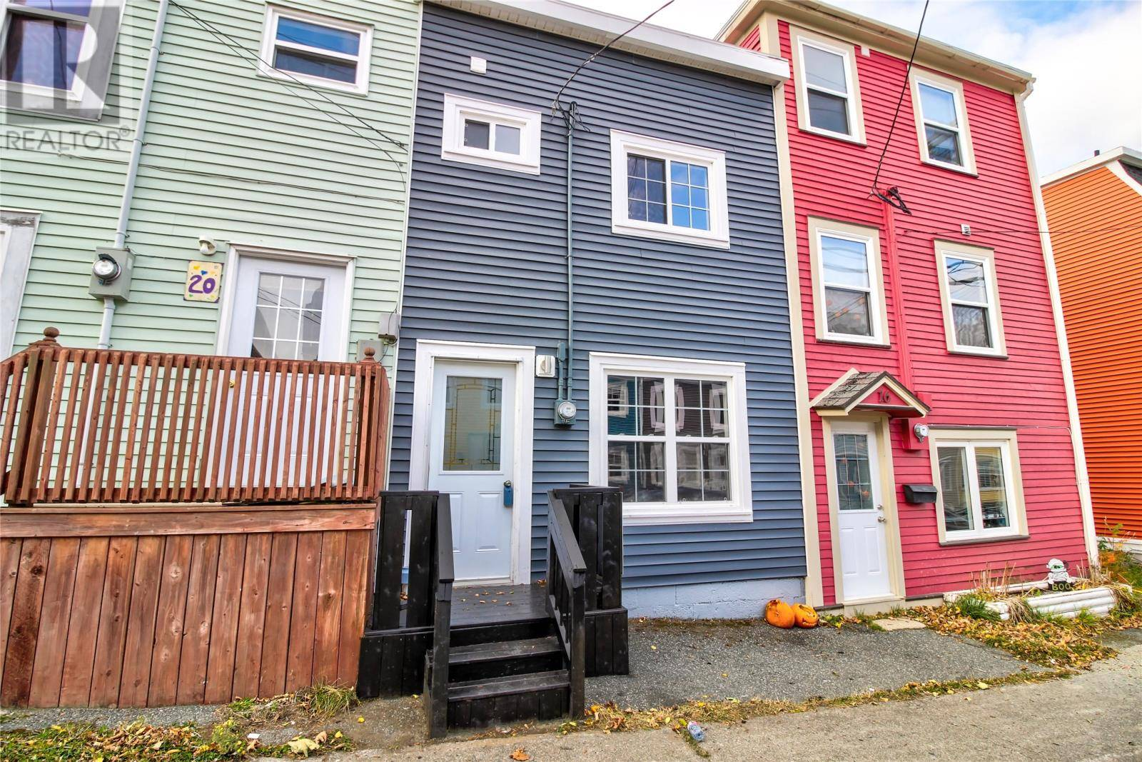 House for sale at 18 Mullock St St. John's Newfoundland - MLS: 1205599