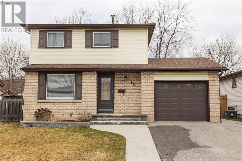 House for sale at 18 Nashua Dr Brantford Ontario - MLS: 30797803