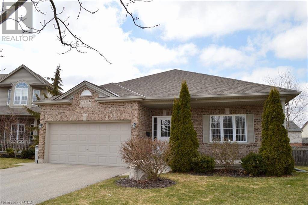 House for sale at 18 Oakmont Gdns Ilderton Ontario - MLS: 250698
