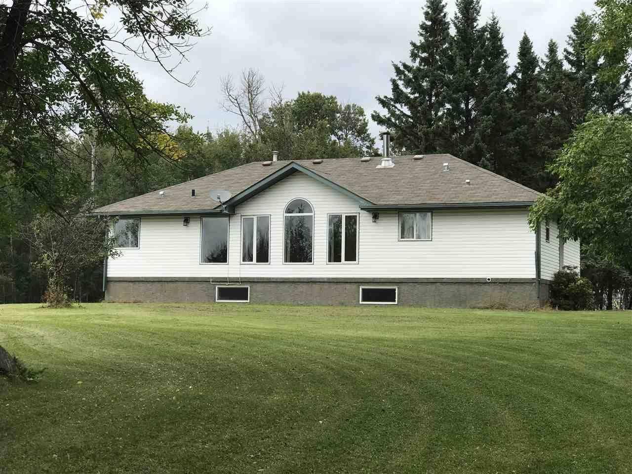 House for sale at 18 Rg Rd N Rural Thorhild County Alberta - MLS: E4172243