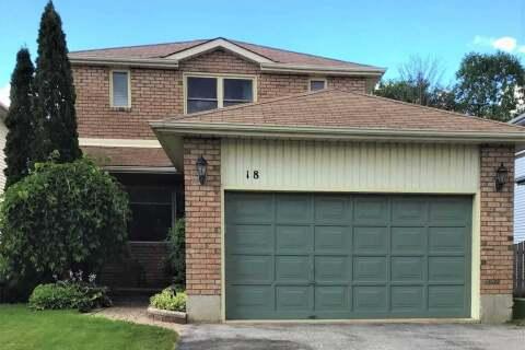 House for sale at 18 Rosenfeld Dr Barrie Ontario - MLS: S4852082