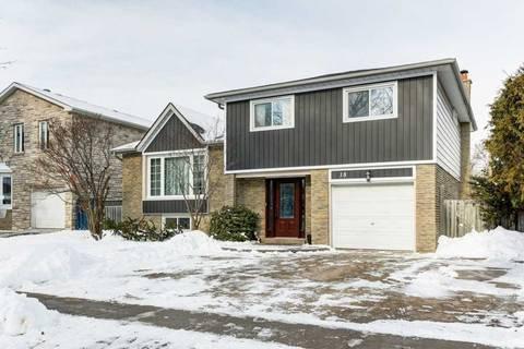 House for sale at 18 Sir Lancelot Dr Markham Ontario - MLS: N4674968