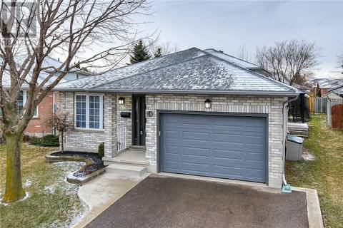 House for sale at 18 Tara Cres Kitchener Ontario - MLS: 30726533