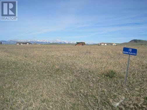Residential property for sale at 18 Walking Plow Acres Rural Pincher Creek Md Alberta - MLS: ld0184430