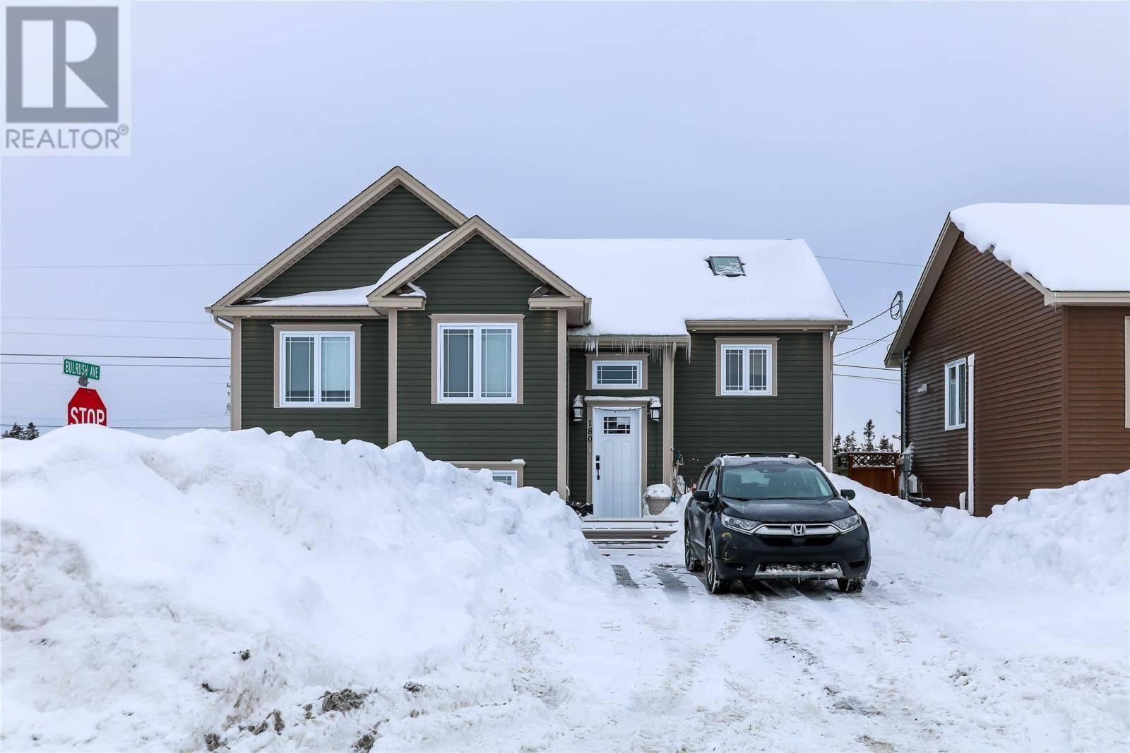 House for sale at 180 Diamond Marsh Dr St. John's Newfoundland - MLS: 1209254