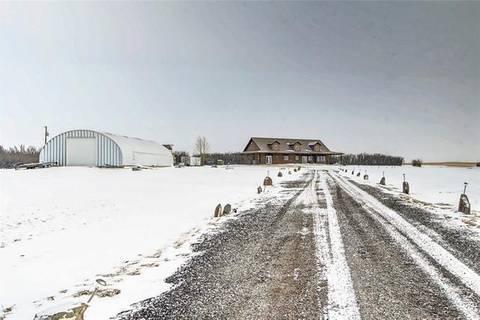 House for sale at 180079 Range Road 254  Rural Vulcan County Alberta - MLS: C4292074