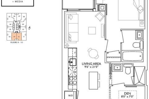 Apartment for rent at 1 Yorkville Ave Unit 1801 Toronto Ontario - MLS: C4959949