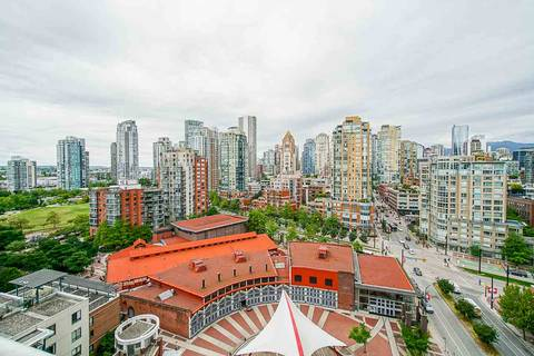 Condo for sale at 1201 Marinaside Cres Unit 1801 Vancouver British Columbia - MLS: R2373900