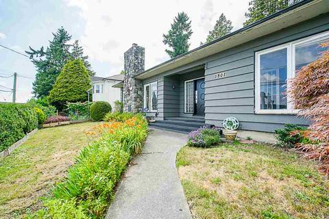 House for sale at 1801 Sixth Ave New Westminster British Columbia - MLS: R2411942
