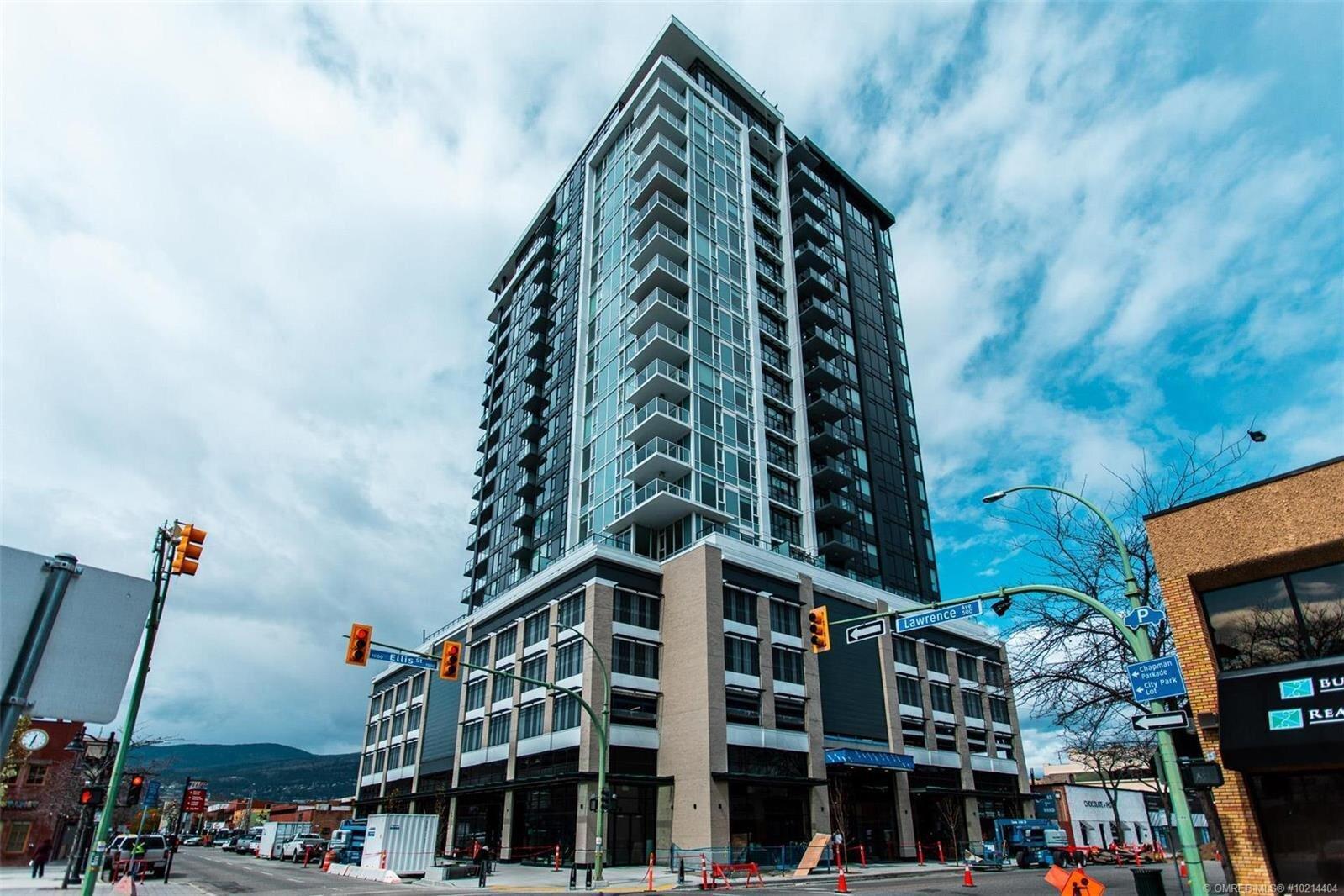 Condo for sale at 1588 Ellis St Unit 1802 Kelowna British Columbia - MLS: 10214404