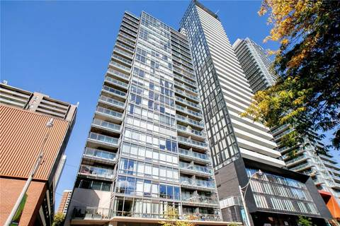 Apartment for rent at 22 Wellesley St Unit 1802 Toronto Ontario - MLS: C4650712