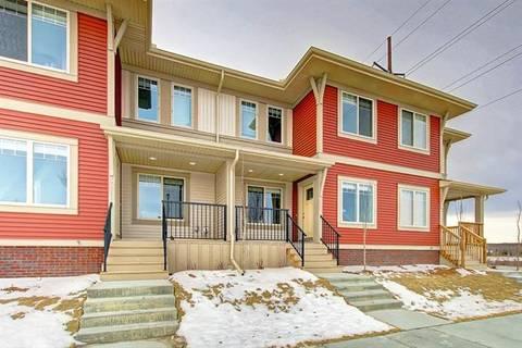 Townhouse for sale at 32 Horseshoe Cres Unit 1802 Cochrane Alberta - MLS: C4287688