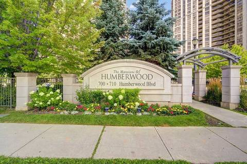 Condo for sale at 710 Humberwood Blvd Unit 1802 Toronto Ontario - MLS: W4546632