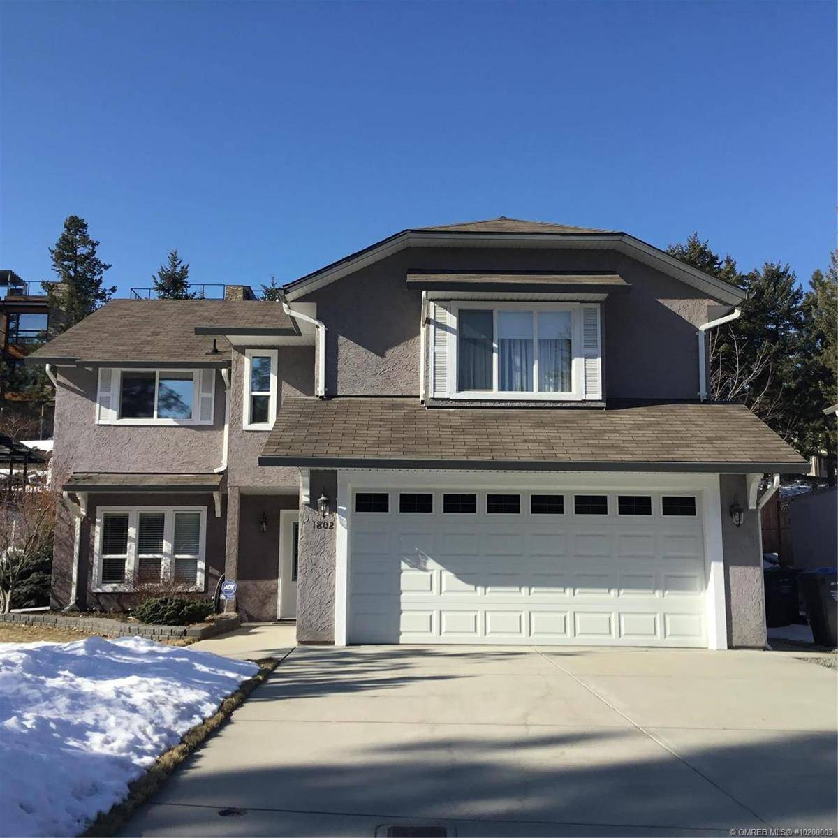 House for sale at 1802 Olympus Wy West Kelowna British Columbia - MLS: 10200003