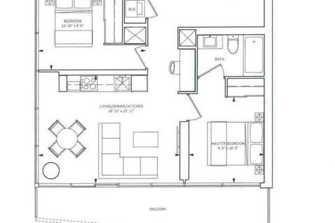 Apartment for rent at 85 Wood St Unit 1803 Toronto Ontario - MLS: C4811128