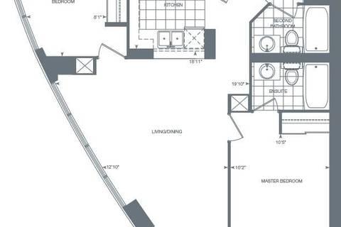 Apartment for rent at 215 Sherway Gardens Rd Unit 1804 Toronto Ontario - MLS: W4613935